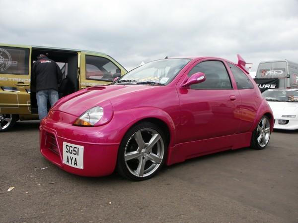 Ford Ka Modified Pink